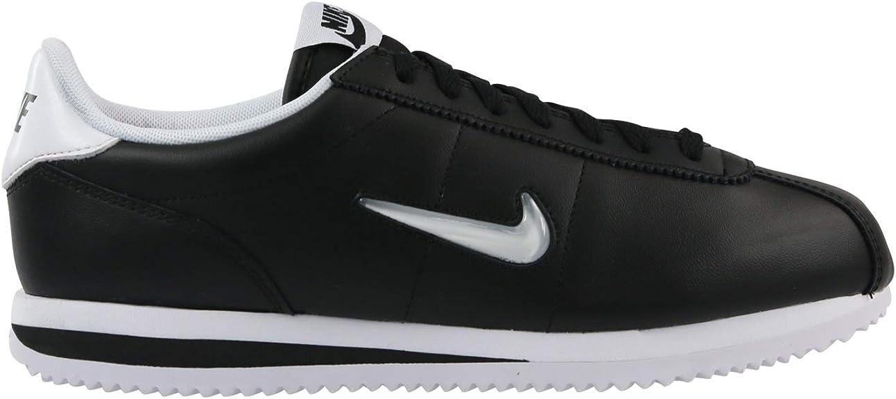 Nike Cortez Basic Jewel, Chaussures de Trail garçon, Noir