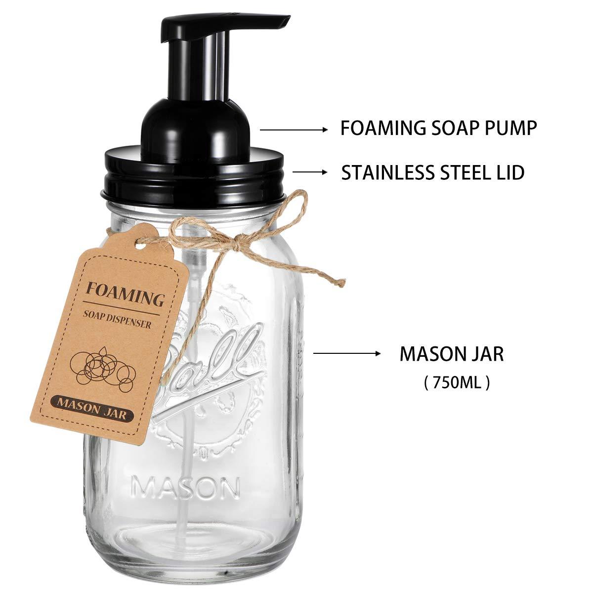 Amazon.com: Andrew & Sarah - Dispensador de jarrón de masón ...