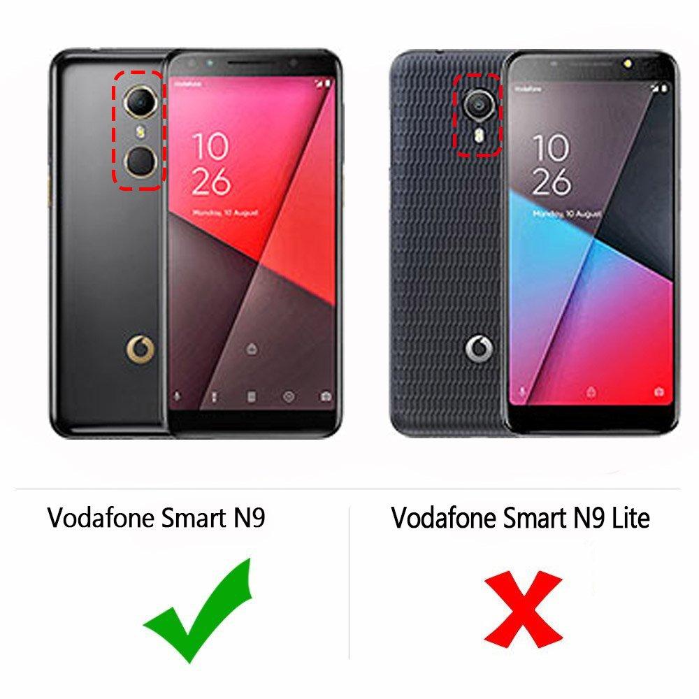 Vodafone Smart N9 Case, AVIDET Shock-Absorption, Anti-Scratch Soft Gel TPU  Silicone Case Cover for Vodafone Smart N9 5 5