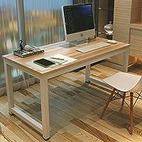 GOTOTOP Tavolo per Computer, Computer Desk Scrivania Postazioni di Lavoro,Tavolo da Pranzo Tavoli riunioni per casa e Ufficio Studio e Scrittura,120×60×74cm