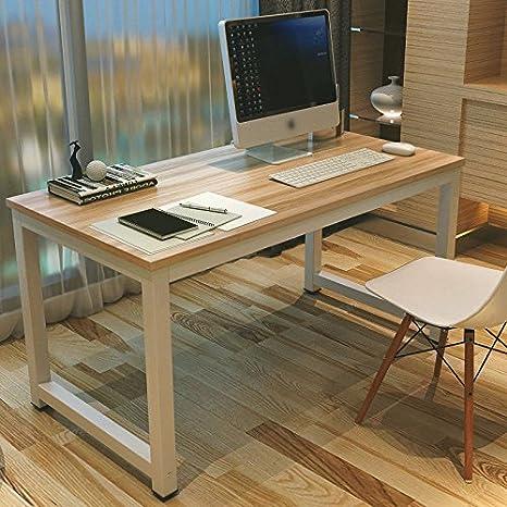 GOTOTOP Tavolo per Computer, Computer Desk Scrivania Postazioni di ...