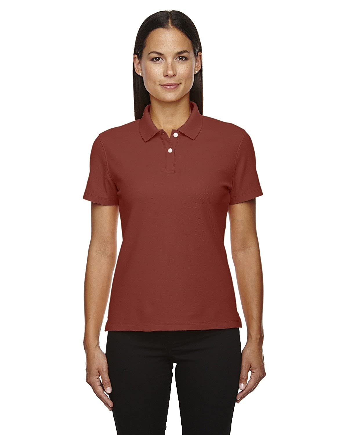 41e820d08a9 Amazon.com  Averill s Sharper Uniforms Women s Ladies Moisture Wicking  Cotton Waitstaff Polo Shirts  Clothing
