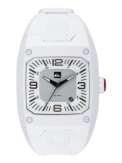Quiksilver EQYWA03000-WBK0 - Reloj, correa de silicona color blanco: Amazon.es: Relojes