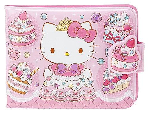 Sanrio Hello Kitty Vinyl Wallet Card Coin Case Pouch : Sweet Princess Kitty