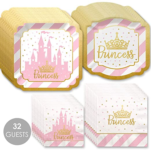 Princess Party Bundles for 32 Guests