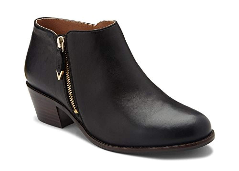 Vionic Womens Jolene Ankle Boot B0793ZG6ML 7.5 W US|Black