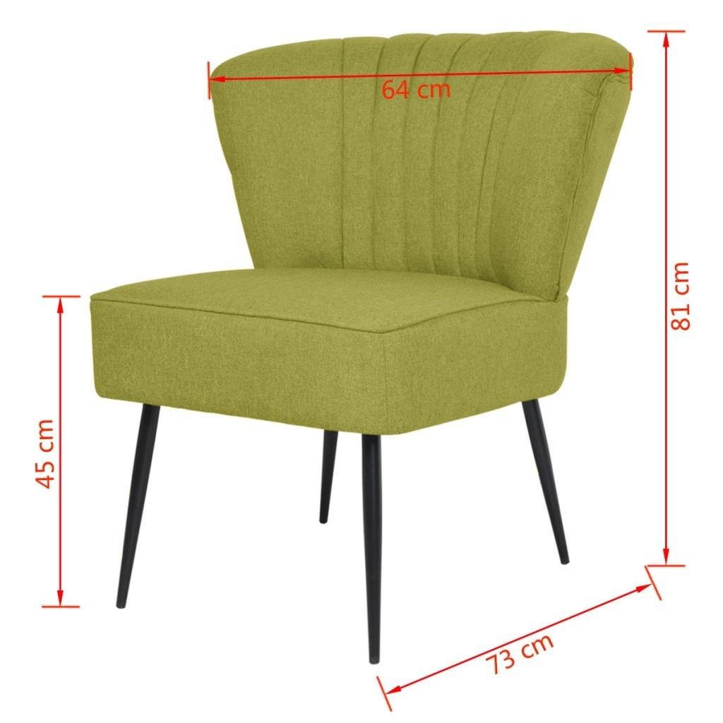 Furnituredeals Sillon con Diseno de Cubo Sillon de Coctel ...