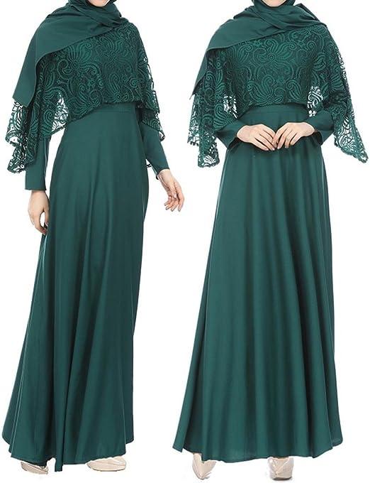 S-Fly Womens Crew Neck High-Low Muslim Stylish Irregular Hem T-Shirt Tee Top