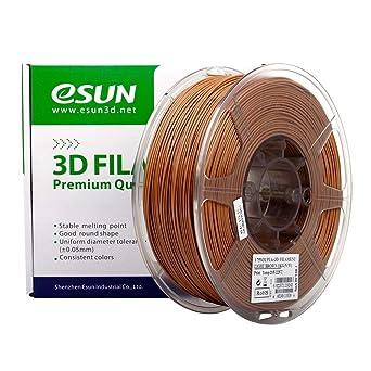 eSun Filamento para impresora 3D, PLA+, 1,75 mm, 1 kg, color ...