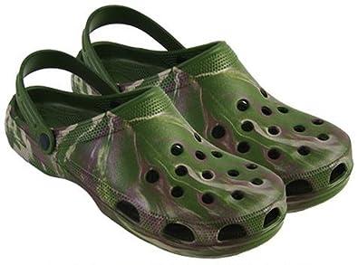 9a2c3f719ca Sabots style Crocs en plastique Camouflage - Vert - Camouflage vert ...