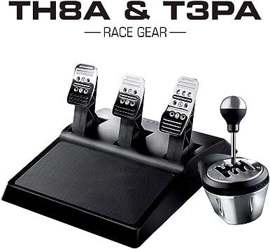 ThrustMaster - Pack de Thrustmaster: TH8A & T3PA Race Gear, Caja de Cambios Manual y secuencial TH8A + Juego de 3 Pedales T3PA (Windows): Amazon.es: Electrónica