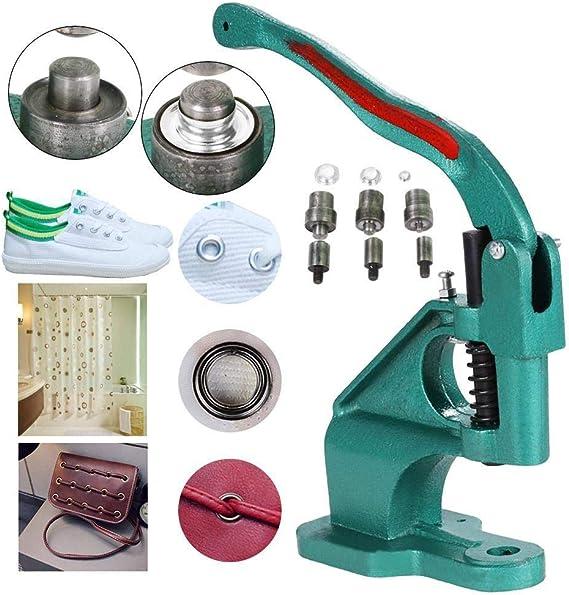 Yaheetech Máquina para hacer ojales Máquina para hacer ojales con ...