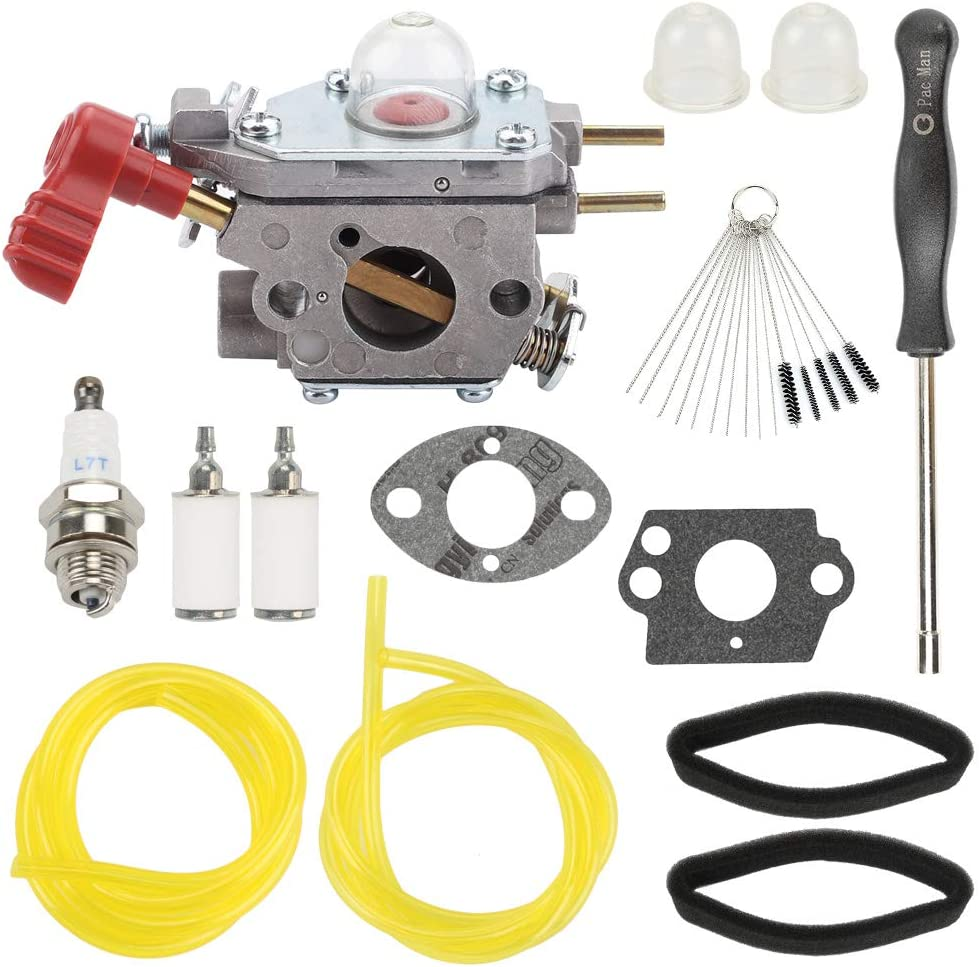 Highmoor 753-06288 Carburetor Carb for Troy Bilt TB35EC TB2044XP TB2040XP TB2MB TB430 String Trimmer Remington RM430 Murray M25B M2560 MS2550 MS2560 MS9900 Leaf Blower