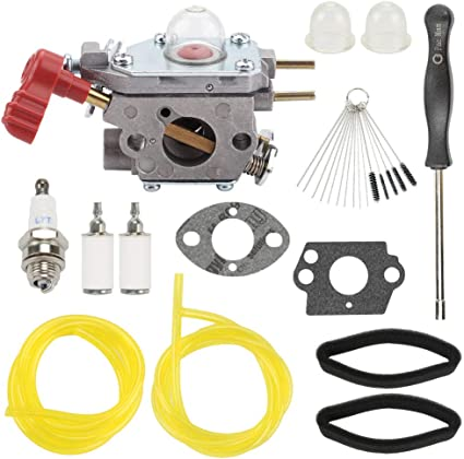 Caburetor kit for MTD MS2550 Troy-Bilt TB2044XP Trimmer #753-06288 751-15112