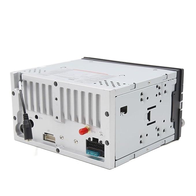 Amazon.com: eDealMax 6.2 HD 2 DIN Wince Radio de coche estéreo DVD de la ayuda del jugador de navegación GPS Bluetooth USB/SD: Car Electronics