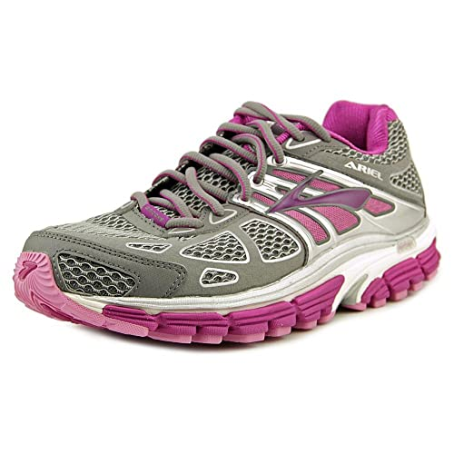 55abbd93538 Brooks Ariel 14 Women s Running Shoes (D Width) - 7.5 Grey  Amazon ...