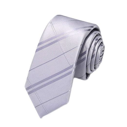 Wild Casual Tie Versión Coreana para Hombre Corbata de 5 cm ...