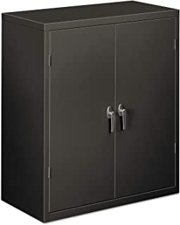 product image for HON SC1842S Assembled Storage Cabinet, 36w x 18-1/4d x 41-3/4h, Charcoal