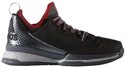 new concept 06ae0 e1d7f Adidas D Lillard Uomo Basketball Scarpe Basse Nero Rosso, Uomo, Clear  OnixGrey