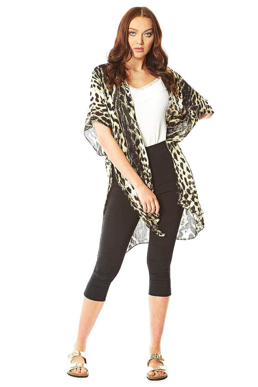 Roman Originals - Chaqueta Tipo Kimono para Mujer, diseño de ...