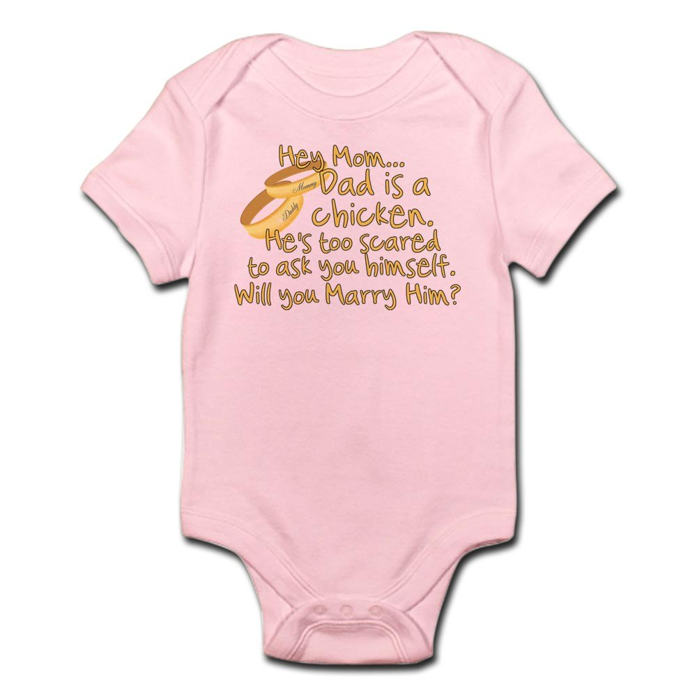 CafePress - Will You Marry Daddy? - Cute Infant Bodysuit Baby Romper