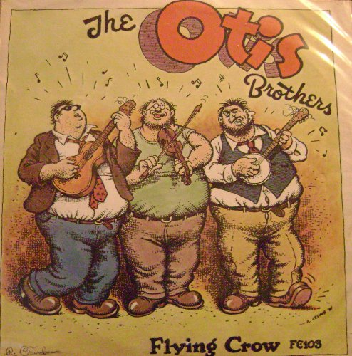 {Autograph} The Otis Brothers : Genial Fat Boys Signed By R. Crumb - Otis And Louie