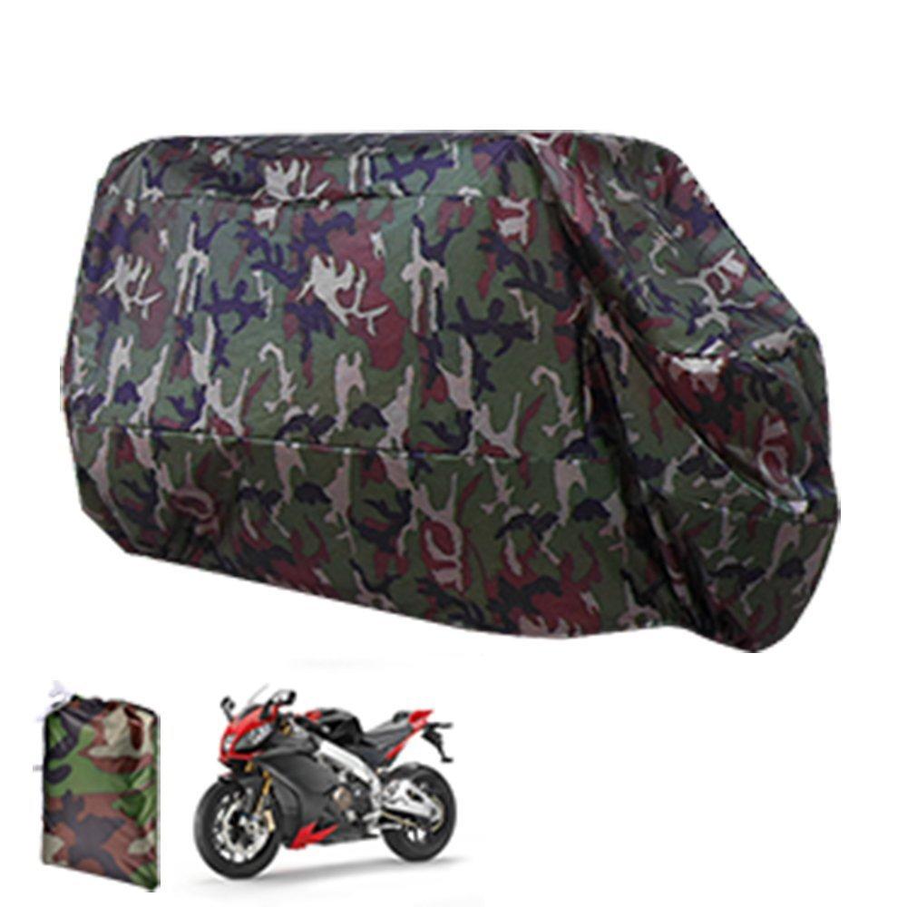 icaseu® Funda Protector Cubierta Talla XL XXL XXXL para Moto Motocicleta XXXL