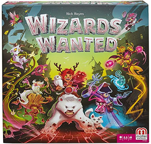 Wizards Wanted Strategy Board Game by Mattel Games