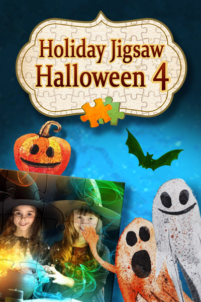 Holiday Jigsaw: Halloween 4 [Download] (100 Floors Halloween 3)