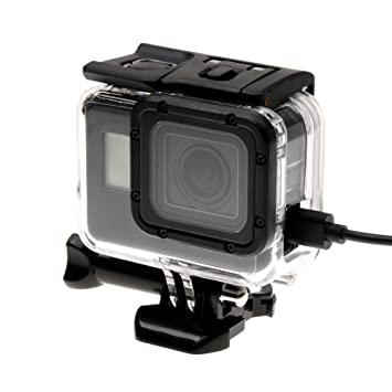 Deylaying Causa para GoPro Hero 6/Hero 5 Black Cámara, Lado ...