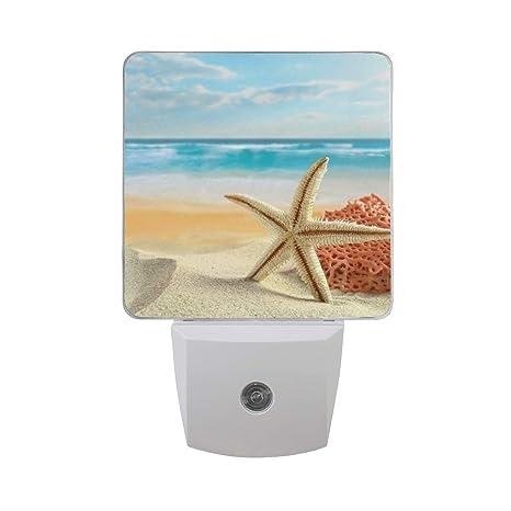 beach theme lighting. Naanle Tropical Beach Theme LED Plug-in Night Light, 2 Pack, Light Beach Theme Lighting