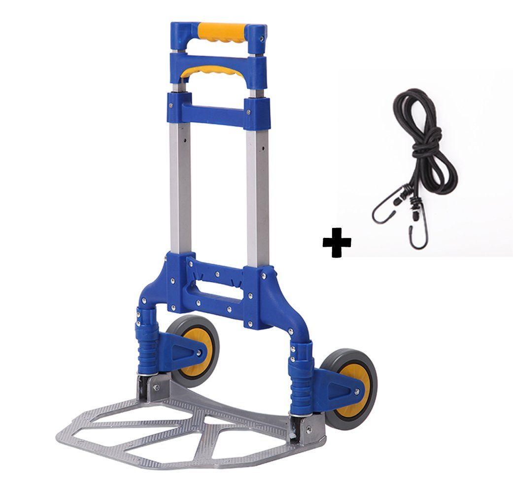 Portable Folding Aluminum Hand Truck Luggage Carts Dolly Capacity heavy duty BENHE