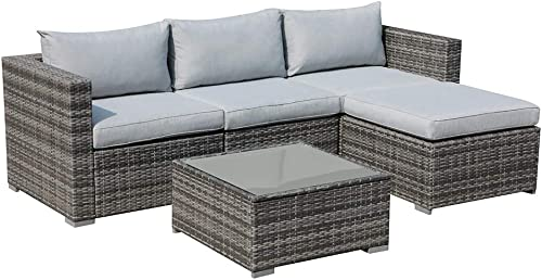 Patiorama 5 Piece Outdoor Patio Furniture Set