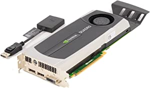 Dell NVIDIA Quadro 5000 2.5GB GDDR5 PCIe 2.0 x16 Graphics Card