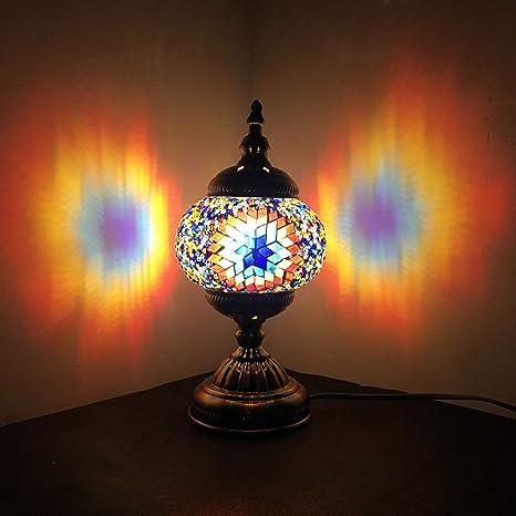 Amazon.com: Lámpara de cristal de color NBHUZEHUA Art Deco ...