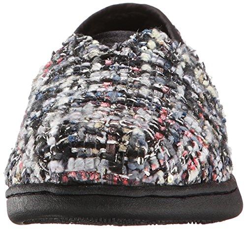 BOBS from Skechers Women's Bliss Highbrow Flat, Brown Woven, 10 M US Black/Multi Woven