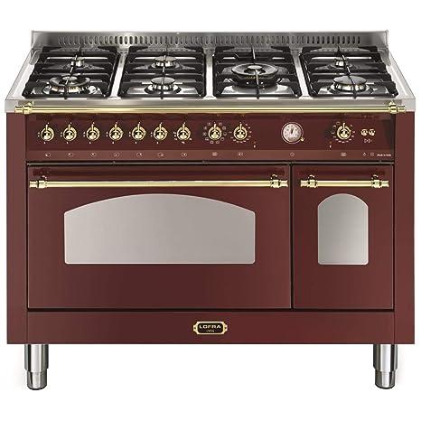 Lofra RRD126MFT+E/2AEO - Cocina (Cocina familiar tipo industrial ...