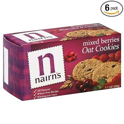 Nairns Oat - Juego de 6 galletas mixtas para galletas de ...