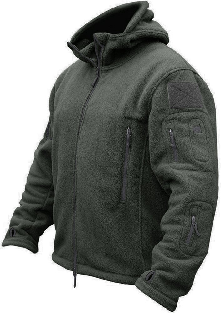 TACVASEN Men's Tactical Fleece Jacket EZ-P9XR-B63Y