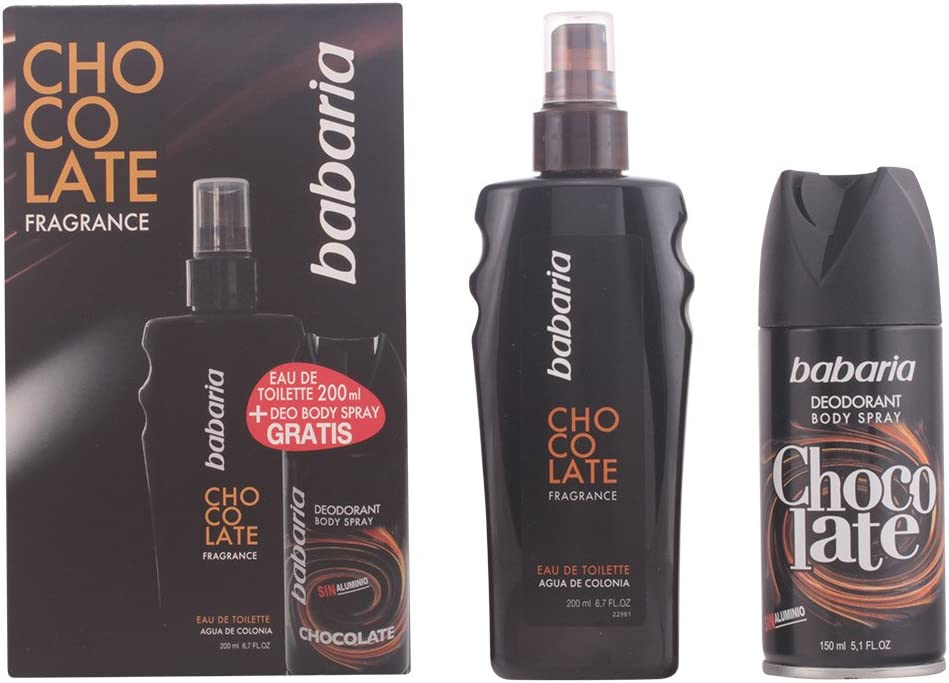Babaria Chocolate For Men Lote 2 Pz: Amazon.es: Belleza