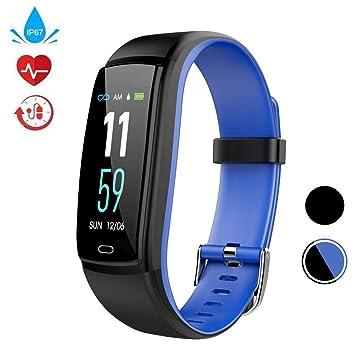 Fitness Tracker, Reloj Activity Tracker con Monitor de Ritmo cardíaco, Activity Tracker con Pantalla