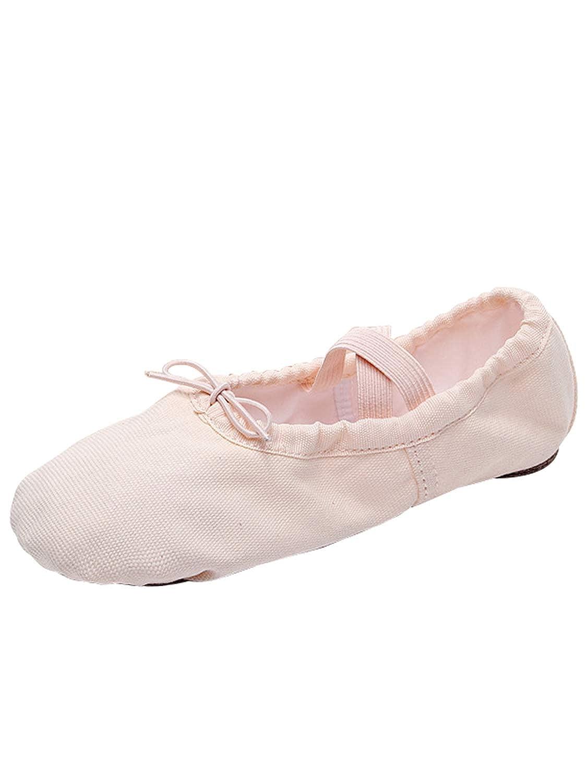 3ff5ef9e86a15 Tookang Chaussure de Ballet Ballerine Chaussure de Danse Chaussures Pilates  Gymnastique Split Plate Ballet Chaussons pour Enfants Adultes Filles   Amazon.fr  ...