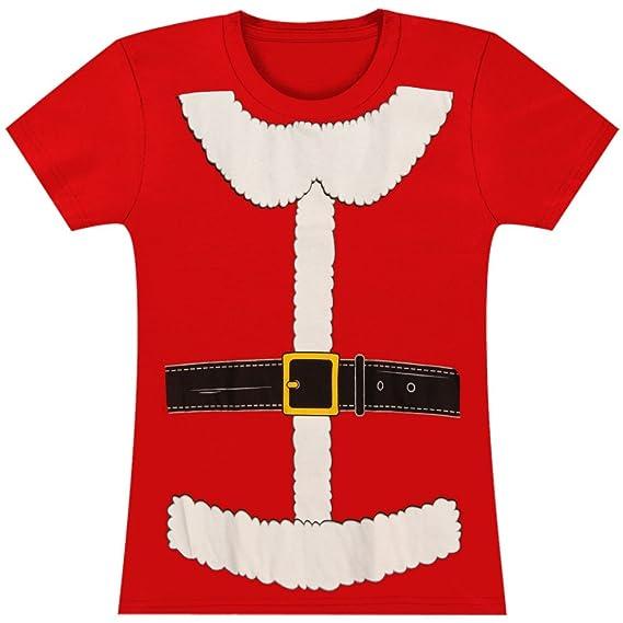 Mrs Claus Costume Juniors T-Shirt