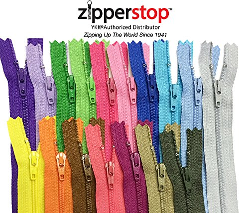 zippers for sewing 4 - 8