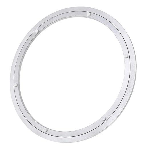ENET Lazy Susan - Base giratoria Redonda de Aluminio DE 35,5 cm ...