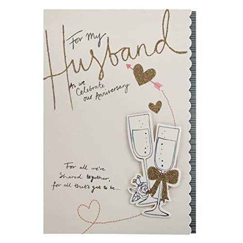 Birthday Cards For Husband Amazon Co Uk: For My Husband On Our Silver 25th Wedding Anniversary Card