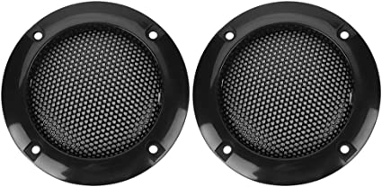 Tosuny 2 Zoll Lautsprecher Gitter Grill 2 Teilig Elektronik