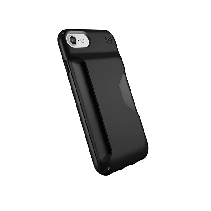 Speck Products Presidio Wallet Case For I Phone 8 (Also Fits 7/6 S/6), Black/Black by Speck