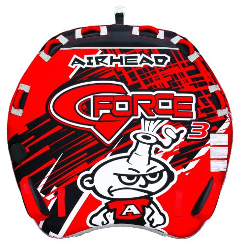 AIRHEAD AHGF-3 G-Force Inflatable - Tube Towable Ski Water Inflatable