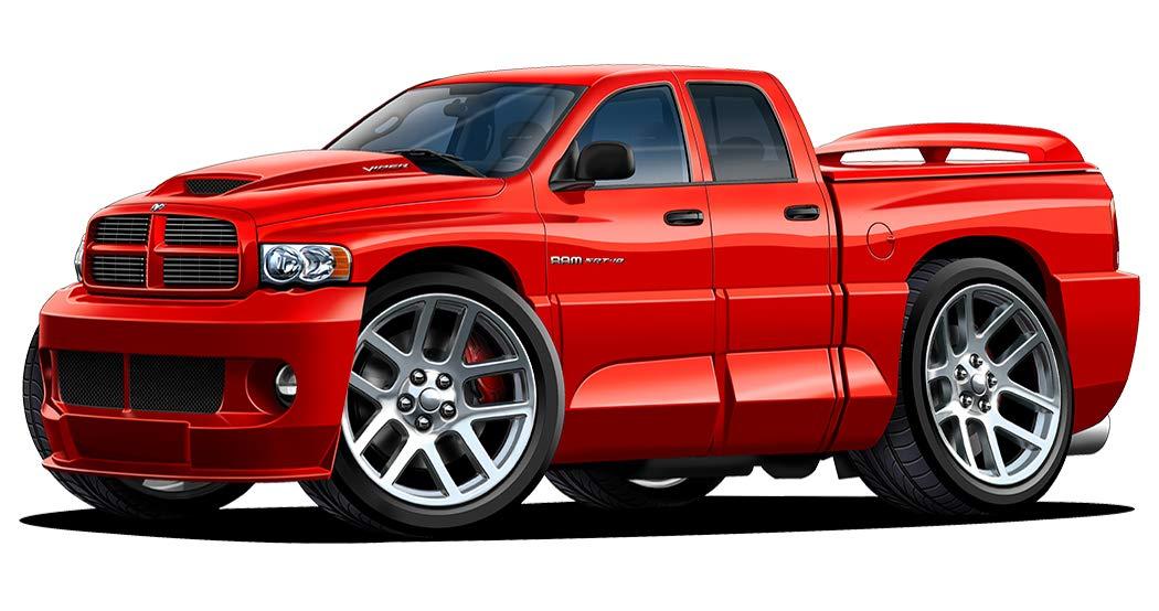 Dodge Ram Srt 10 >> Amazon Com Dodge Ram Srt 10 Viper Truck 4 Door Wall Decal Sport Car